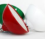 다육이 실내재배 필수품/다육이용 인공태양 80W 볼타입 LED/컬러 전등갓을 씌운듯한 인테리어 효과/|