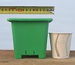 녹색사각 플분 3호 플라스틱화분 플라스틱분 풀분 사각포트 파종분 플라스틱화분(10+1) 플라스틱화분 플라스틱화분 
