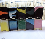 화분 스토리 미니사각분(우암도예.수제화분)7개세트 색상랜덤|Handmade Flower pot