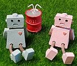 로봇 2종 + 소품 1개 (가든데코)|