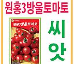 생활백화점 씨앗 채소씨앗 원홍3호방울토마토씨앗|