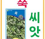생활백화점 씨앗 채소씨앗 쑥(종자)씨앗 