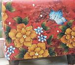 노란나비수제화분0002|Handmade Flower pot