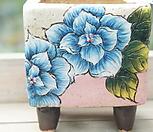 노란나비수제화분0011|Handmade Flower pot
