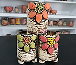공방 수제화분3개 Handmade Flower pot