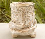 쭈그리수제분#26196|Handmade Flower pot