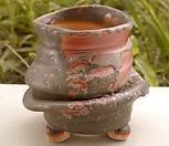 쭈그리수제분#26197|Handmade Flower pot
