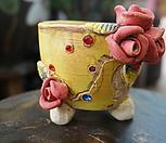 우리꽃수제분10|Handmade Flower pot