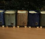 수제화분 사각분 5개셋트 Handmade Flower pot