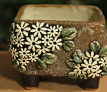 수제화분 사각분 01 Handmade Flower pot