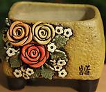수제화분 사각분 07 Handmade Flower pot