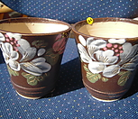 44 이쁜수제분 2개|Handmade Flower pot