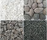 [꽃대통령]흰색돌/흑색돌/맥반석/에그돌/세척마사토/옥돌/오색돌/데코용돌/조경용/스톤/어항/1kg(소)size|