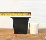 12cm 플라스틱화분 3호(10+1/튼튼한플분 사각플분 파종분 플분)|