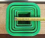 녹색플분 3호 12cm 1BOX(150개)|