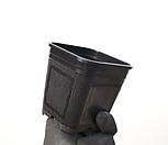 사각플분3호(9cm/500개/도매1box)(플라스틱)|