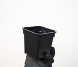 물결플분3호(9cm/500개/도매1box)(플라스틱)|