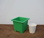 튼튼녹색플분3호(12cm/150개/도매1box)(플라스틱)|