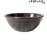 옹기자베기화분2호/다육화분/옹기화분/항아리/국산옹기/옹기수반/나라아트|