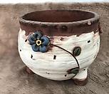 수제화분-중고(상처있음)-C051|Handmade Flower pot