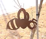 스틸데코 꿀벌 (정원장식, 조형물, 정원소품, 정원꾸미기, 홈가드닝)|Echeveria still
