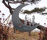 스틸데코 달토끼 (정원장식, 조형물, 정원소품, 정원꾸미기, 홈가드닝)|Echeveria still