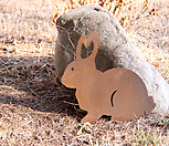 스틸데코 토끼 (정원장식, 조형물, 정원소품, 정원꾸미기, 홈가드닝)|Echeveria still