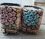 수제화분 2개셋트|Handmade Flower pot