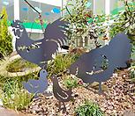정원 소품 닭 가족 조경 자재 꾸미기 장식 철제 용품 조형물 화단 시설물 인테리어 가든 빈티지 홈가드닝 단독주택 마당 원예 연못 야외 실외 예쁜 이야기 잔디 산책로|