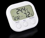 온도습도관리 디지털 온습도계 표준형♥온도계 습도계 시계 탁상시계 다육