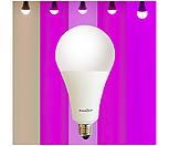 빛솔 식물 LED전구 6종 생장용 10W 15W