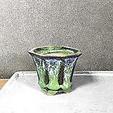 초록색 수제화분 미니 다육이 화분 - 다육화분|Handmade Flower pot