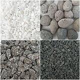 [꽃大통령]흰색돌/흑색돌/맥반석/에그돌/세척마사토/옥돌/오색돌/데코용돌/조경용/스톤/어항/1kg(소)size|