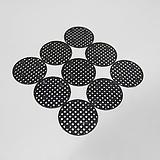 깔망 검정색 20개 화분깔망|