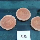 통나무슬라이스3개(diy용도)참죽나무0105xp22|