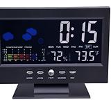 디지털 온습도계 고급형/탁상시계/다기능 세련된 디자인/충전가능|