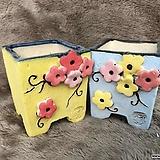 수제화분-셋트-C074 Handmade Flower pot