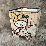 수제화분-C077 Handmade Flower pot