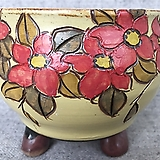 넉넉한사이즈,고급꽃수제분-a Handmade Flower pot