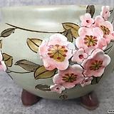 넉넉한사이즈,고급꽃수제분-c (랜덤발송) Handmade Flower pot
