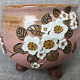 넉넉한사이즈,고급꽃수제분-d Handmade Flower pot