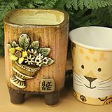 수제화분 사각소분 41|Handmade Flower pot