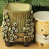 수제화분 사각소분 42|Handmade Flower pot