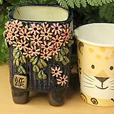 수제화분 사각소분 43|Handmade Flower pot