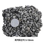 灰色화산석500ml/1L(5~10mm)(복토/화장토/천연펄라이트역할)|