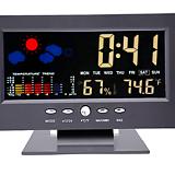 디지털 온습도계 고급형♥탁상시계♥다기능 세련된 디자인♥충전가능♥온도 습도 온도계 습도계 시계 다육|