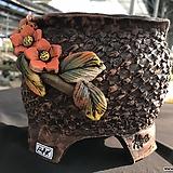 청유리원수제화분1284|Handmade Flower pot