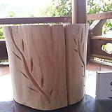 화분장식대,소품장식대용 통나무0913xp1|