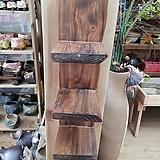 통나무 걸이형 선반(느릅나무)|
