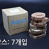 S-Box 우드코스터(12mm) 나무컵받침 나무받침 초특가|